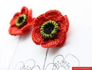 crochet-poppy-flower
